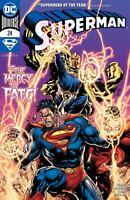 Superman #24 Cvr A Ivan Reis (2020 Dc Comics)