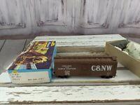 CNW 7954 chicago northwestern boxcar train car toy HO freight