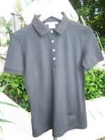 Nike Golf Damen DRI-FIT Poloshirt Kurzarm schwarz * Gr. M 38/40 * Funktionsshirt
