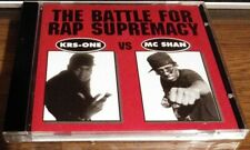 KRS-ONE VS MC SHAN  Battle For Rap Supremacy CD 1986 1987 Cold Chillin RARE OOP