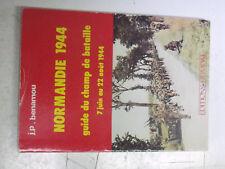 16$$ Livre Heimdal Normandie 1944 Guide du Champ de Bataille 7 juin au 22/08/44