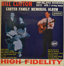 BILL CLIFTON - CARTER FAMILY MEMORIAL ALBUM - STARDAY LONDON HA-B 8004 LP (X344)