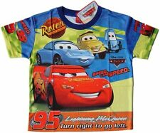 TRES JOLI TEE-SHIRT DISNEY CARS MCQUEEN 9-10 ans (XL) QUALITE imprimé 2 faces