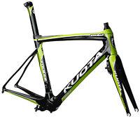 Road Bike Aero Frameset Kuota Kougar Green XL