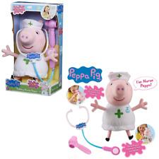 Peppa Pig hablando enfermera Peppa Felpa Suave Juguete Juegp Muñeca