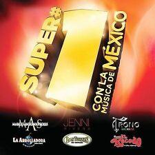 Super #1's: Con La Musica de Mexico by Various Artists (CD, Oct-2009, Fonovisa)