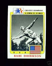 (100) 1983 OLYMPIC BABE DIDRIKSON CARDS ~ WNBA