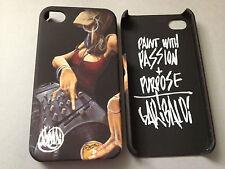 GARIBALDI PLASTIC BACK CASE / COVER FOR APPLE iPHONE 4 4S - DJ JEWEL DESIGN