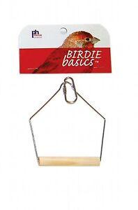 Prevue Pet Products Birdie Basics 3in X 4in Wood Swing