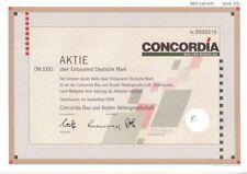 Concordia Bau und Boden AG 1000DM Oberhausen 1994