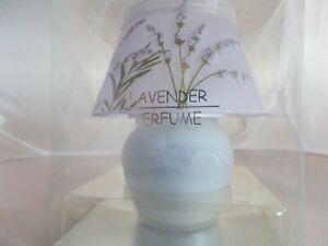 Windlicht Duftkerze Teelichtlampe Lavendel lila