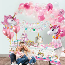 Unicorn Party Supplies Set & Tableware Kit Birthday Decorations 🦄🦄🦄
