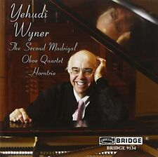 Yehudi Wyner - Wyner  The Second Madrigal Voices of Women [CD]