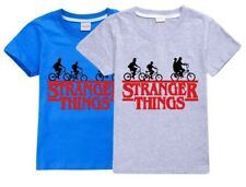 Stranger Things Netflix Boys Girls Unisex Kid's T Shirt 100% Cotton AU Shop