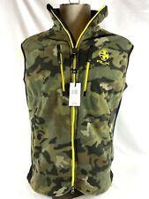 New listing Ralph Lauren RLX Fleece Vest Camo Lightweight Size L Camouflage Army Jacket New