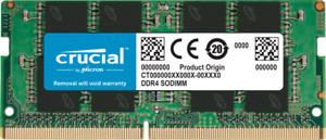 Crucial CL19 16GB DDR4 SODIMM 260-pin 2666MHz 1.2V (16GBx1) Notebook Memory RAM