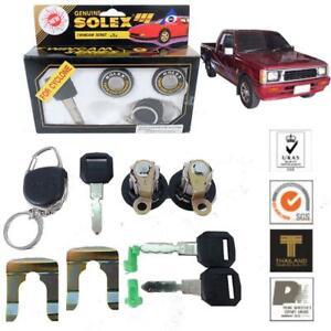 Fit 97-94 Mitsubishi Mighty Max Dodge Ram L200 Solex 2Door Lock Security Key Set