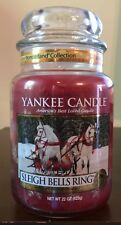 Yankee Candle SLEIGH BELLS RING 22 oz Jar Collectors Edition Winter Wonderland
