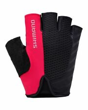 Shimano Touring Short Finger Womans cycle-riding-bike Gloves, Summer, Red, MED