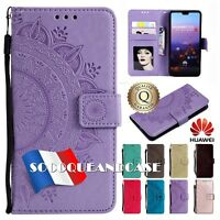 Etui Coque housse SOLEIL Cuir PU Leather Case Cover HUAWEI Honor Collection