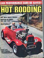 Popular Hot Rodding Magazine October 1971 Dick Harrell EX No ML 051417nonjhe