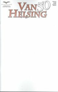 VAN HELSING (LEGACY NUMBER) #50 COVER F BLANK SKETCH VF/NM 2021 ZENESCOPE HOHC