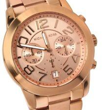 Michael Kors MK5727 Rose Gold-Tone Mercer Watch
