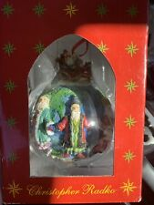 "Christopher Radko Christmas ""Santas Around The World "" Ornament"