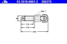 Entlüfterschraube/-ventil - ATE 03.3518-6901.2