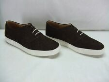 "Thorocraft ""Lowe"" Brown Woven Leather Sneaker Shoe Mens Size US 13 EURO 46 New"
