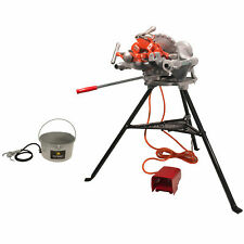 Reconditioned Ridgid 300 Pipe Threader 15682 With Set Of 811 Die Heads