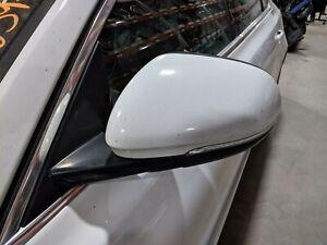 2016 2017 JAGUAR XF DRIVER'S LEFT SIDE DOOR MIRROR WHITE