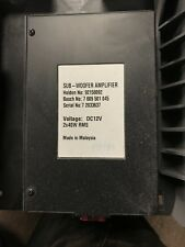 Vauxhall Vxr8 Subwoofer Amplifier