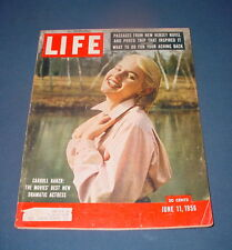 LIFE MAGAZINE JUNE 11 1956 CARROLL BAKER LOU ARMSTRONG WAKE FOREST NICE!!!!