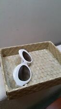 NWOT CRAP Eyewear, The Saloma Tropic Sunglasses in Gloss White