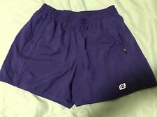 ROADRUNNER LINED JOGGING SHORTS WOMEN Sz M BLUE TS8