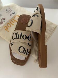 chloe sandals size 5