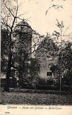 Giessen, Schloss- u. Heide-Turm, 1909