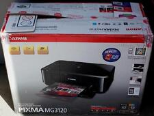 Canon Pixma MG3120 Ink Jet Printer - NOT WORKING - FOR PARTS ONLY - Original Box
