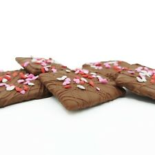 Philadelphia Candies Mother's Day Graham Crackers Milk Chocolate Covered 6 Ounce