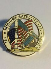 Iridium Satellite LLC IS1 Mission Pin