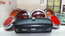 LUCAS L488 lente in vetro classico vintage Rimorchio Luci esterne & Riflettore Set