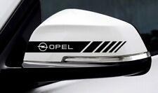 2x Opel Sport Spiegelaufkleber Autoaufkleber Decal Tuning Shocker