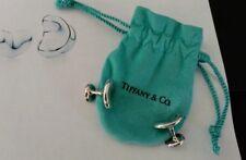 "TIFFANY Vintage Set ""Unisex"" Style Beauties ""BEAN Cuff Links"" by Elsa Peretti"