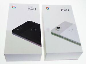 New Google Pixel 2 Unlocked (GSM+CDMA) 64GB/128GB Black White Blue 12.2 MP 4G