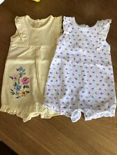 Summer pack Of 2 Romper Suits