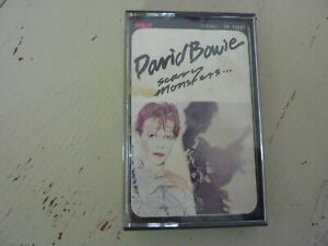 DAVID BOWIE CASSETTE AUDIO