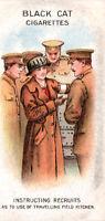 "1916 Carreras Ltd. Black Cat Cigarettes WWI Card ""Women on War Work"" Instructor"