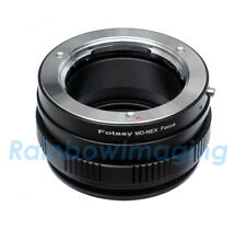 Minolta MD Lens to Sony NEX Adapter/ Macro Focusing Helicoid  NEX-7 NEX-5R