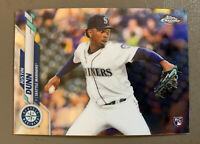 2020 Topps Chrome JUSTIN DUNN Rookie RC - Seattle Mariners